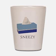 Sneezy Dwarf Shot Glass