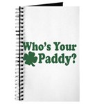 Who's Your Paddy Journal