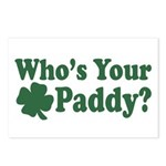 Who's Your Paddy Postcards (Package of 8)