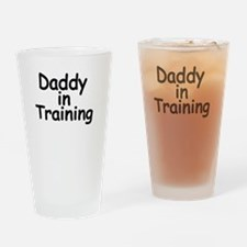 Daddy in Training Drinking Glass