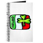 Ireland Flag Shamrock Journal
