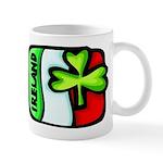 Ireland Flag Shamrock Mug