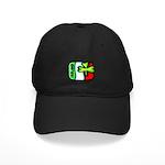 Ireland Flag Shamrock Black Cap