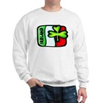 Ireland Flag Shamrock Sweatshirt