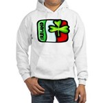 Ireland Flag Shamrock Hooded Sweatshirt
