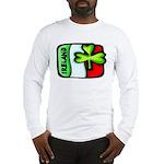 Ireland Flag Shamrock Long Sleeve T-Shirt