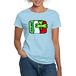 Ireland Flag Shamrock Women's Light T-Shirt