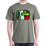 Ireland Flag Shamrock Dark T-Shirt