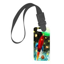 2.28x4.57_lilredrocketship Luggage Tag