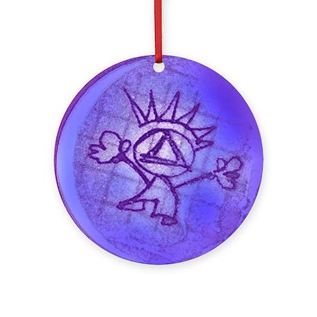 AA MAN Ornament (Round)