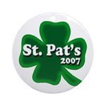 St. Pat's 2007 Ornament (Round)
