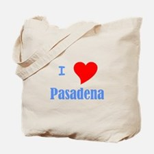 I Love Pasadena Tote Bag
