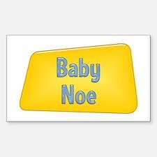 Baby Noe Rectangle Decal