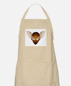 On the Wings of Aliens Brown BBQ Apron