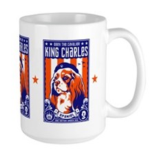 Obey the Cavalier King Charles Spaniel! Mugs