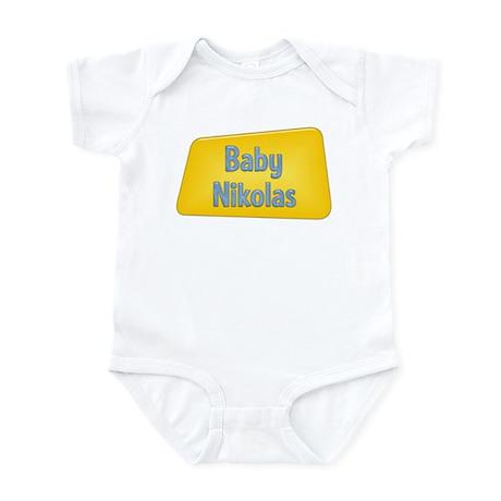 Baby Nikolas Infant Bodysuit