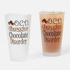Cute Chocolate Drinking Glass