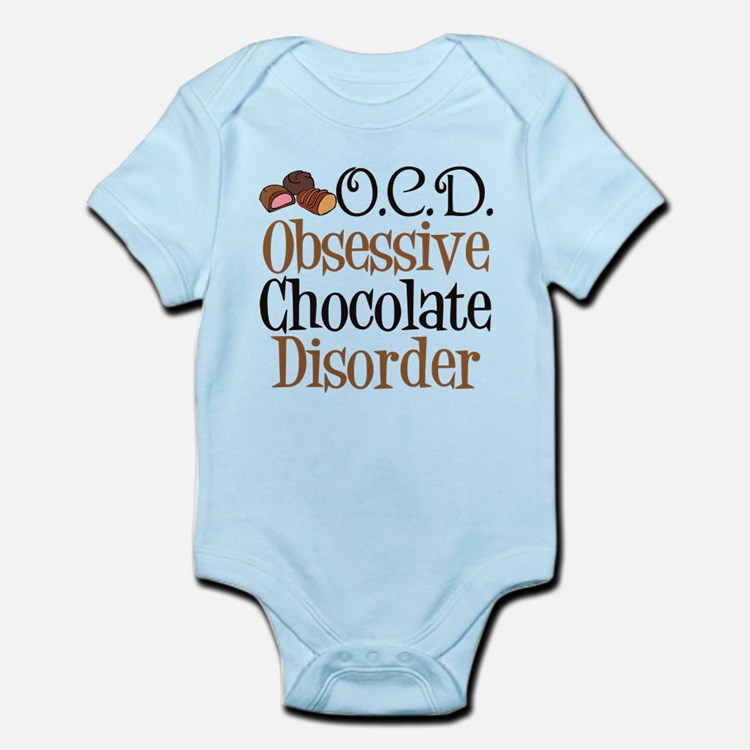 Cute Chocolate Infant Bodysuit