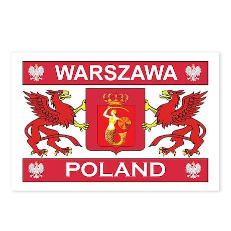 Warszawa Postcards (Package of 8)