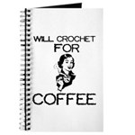 Will Crochet for Coffee Journal