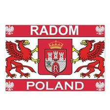 Radom Postcards (Package of 8)