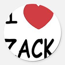 ZACK Round Car Magnet