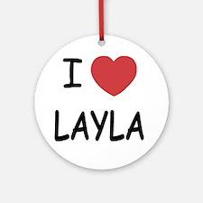 LAYLA Round Ornament