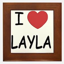 LAYLA Framed Tile