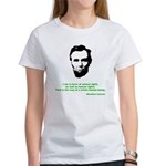 Abraham Lincoln Women's T-Shirt