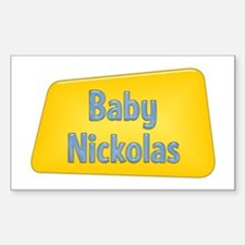 Baby Nickolas Rectangle Decal