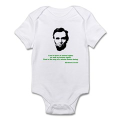 Abraham Lincoln Infant Creeper