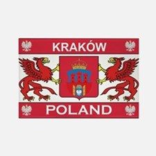 Krakow Rectangle Magnet