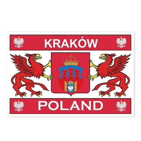 Krakow Postcards (Package of 8)