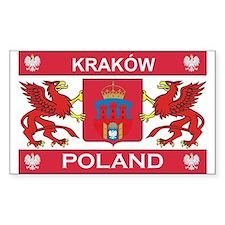 Krakow Rectangle Decal