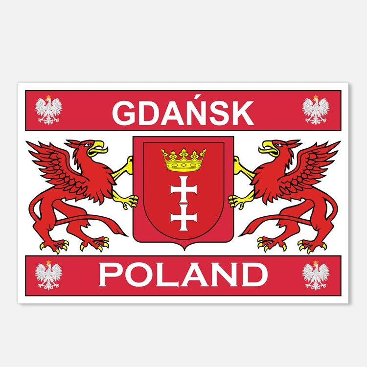 Gdansk Postcards (Package of 8)