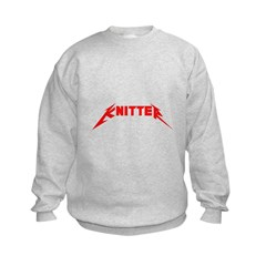Rock and Roll Knitter Sweatshirt