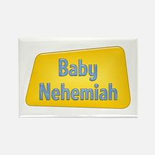 Baby Nehemiah Rectangle Magnet