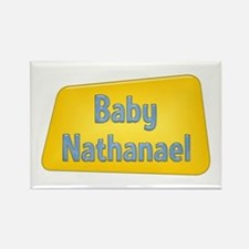 Baby Nathanael Rectangle Magnet