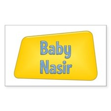 Baby Nasir Rectangle Decal