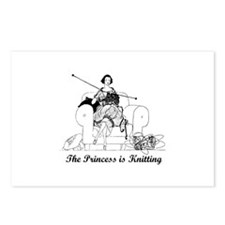 The Princess is Knitting Postcards (Package of 8)