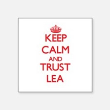 Keep Calm and TRUST Lea Sticker