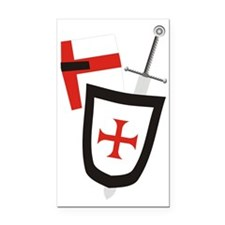 knight of St George Rectangle Car Magnet