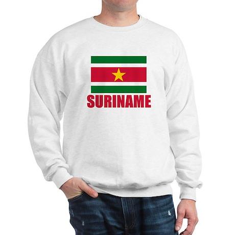 Suriname Flag Sweatshirt