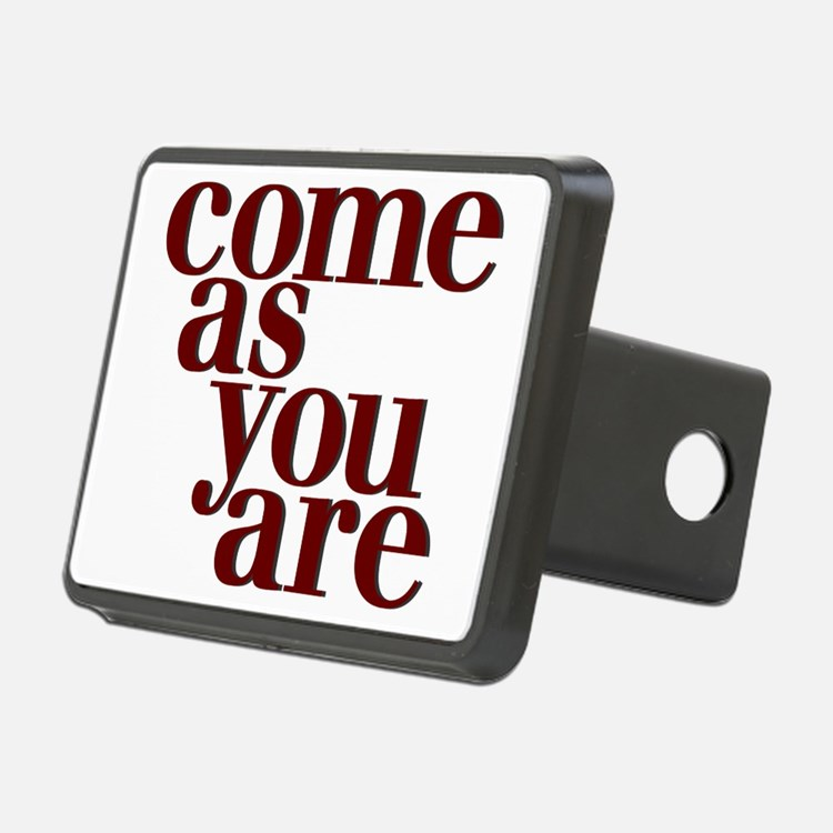 Come as you are teeshirt Hitch Cover