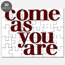 Come as you are teeshirt Puzzle