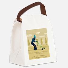 Lawnmower Canvas Lunch Bag