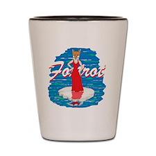Foxtrot Shot Glass