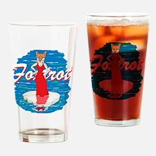 Foxtrot Drinking Glass