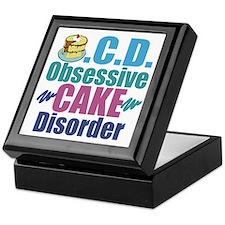 Cute Cake Keepsake Box