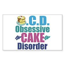 Cute Cake Decal